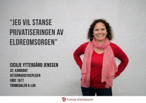 Fra Tromsø Aps valgkamp 2015.