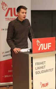 Brynjar Andersen Saus er politisk nestleder i AUF i Troms. Han er tidligere leder i Tromsø AUF og ungdomsrådet i Tromsø.