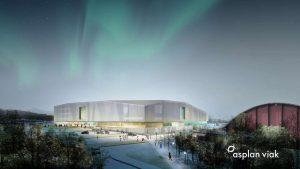 Tromsøbadet. Illustrasjon: Asplan Viak