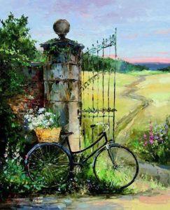 cykel äng fin
