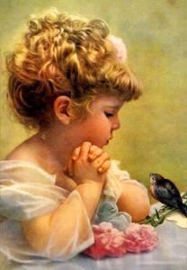 flicka fågel pratstund