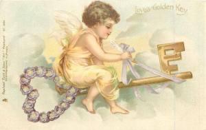 Ängel sidenband nyckel