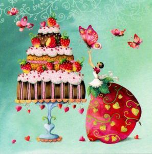 Grattis tårta