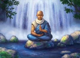 Muk mediterar liten