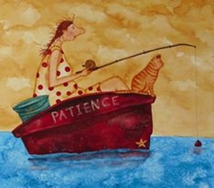 Kvinna Tålamod kopia