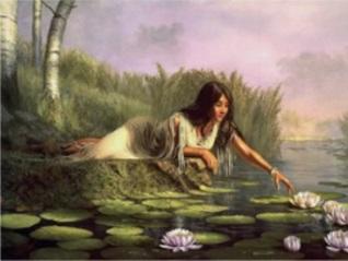 Kvinna vatten kopia