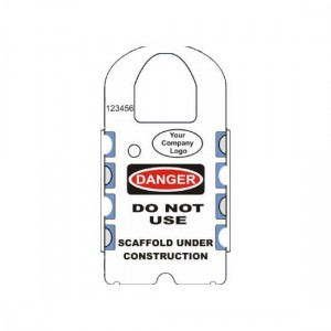 LBL-7 INSPECTION RECORD SCAFFOLDING TAG