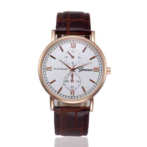 vintage style mens watch image
