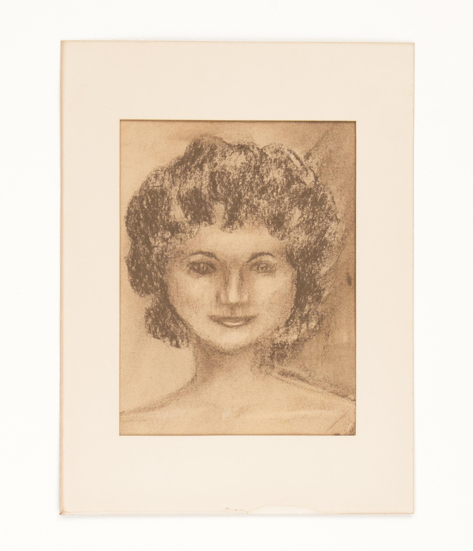"""Untitled"" 1983, Nu Pastel, 13x10IN"