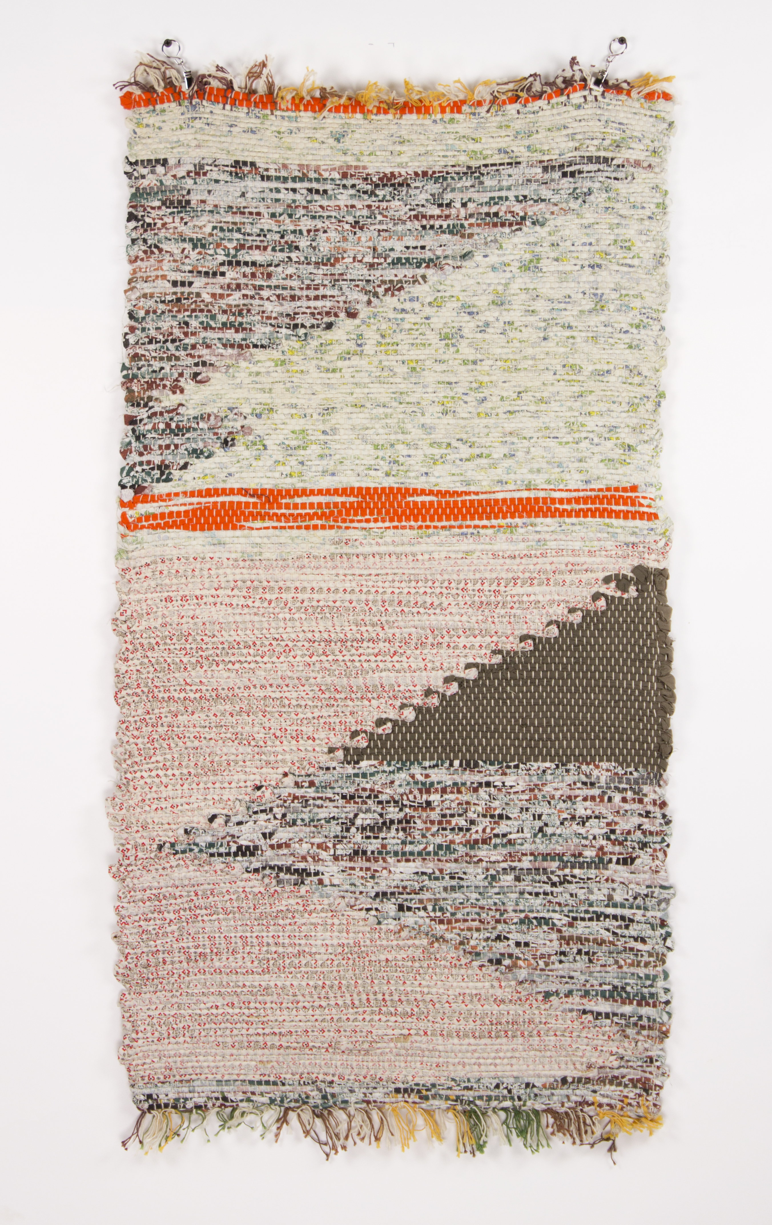 """""""Untitled"""" 2005, Woven Fabric, 43x22IN"""