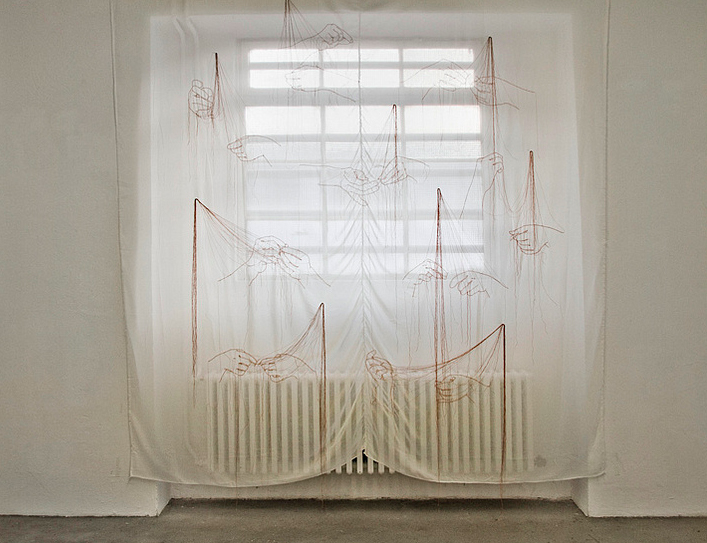 Installation view of Aiko Tezuka