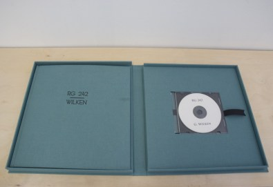 Detail of Greg Wilken, RG242, 2009, DVD and book with case