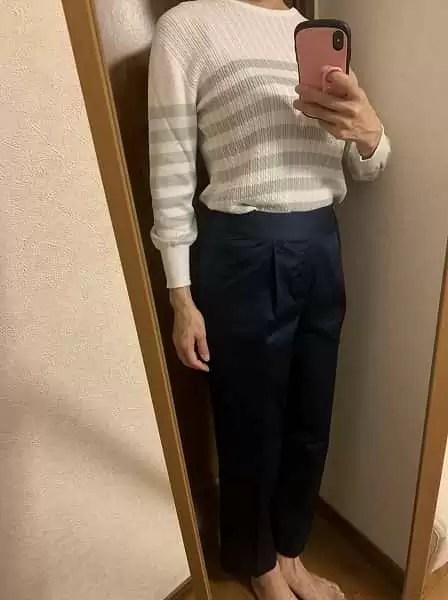 エアクロで届いた洋服の写真