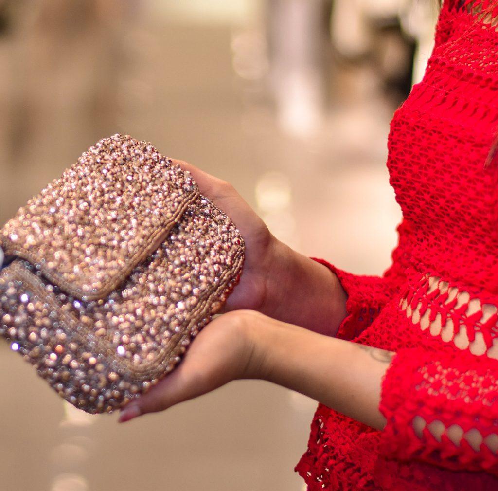 Embellished Clutch Zara