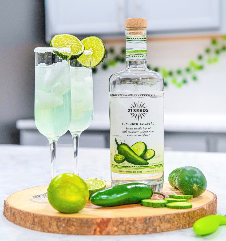 Cucumber Lime Tequila