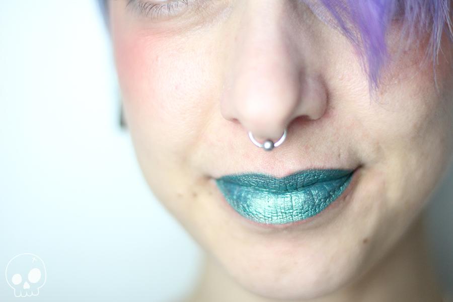 sephora collection audacious emerald glamash