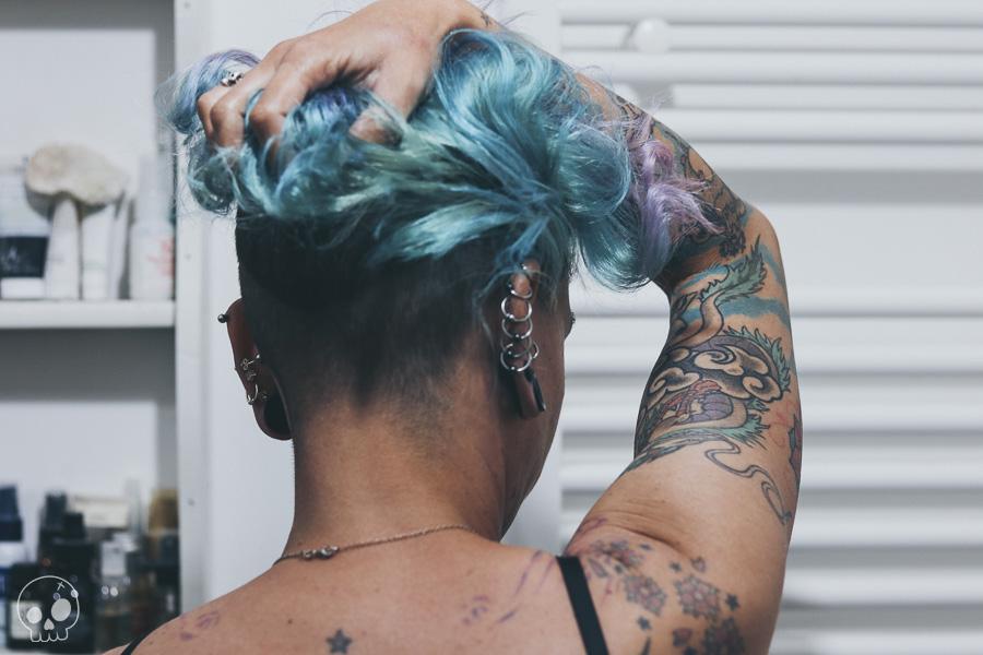 glamash jennysioux shaved hair alternative girl