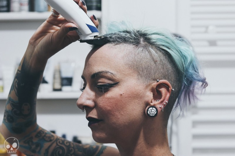 glamash jennysioux shaved hair alternative girl