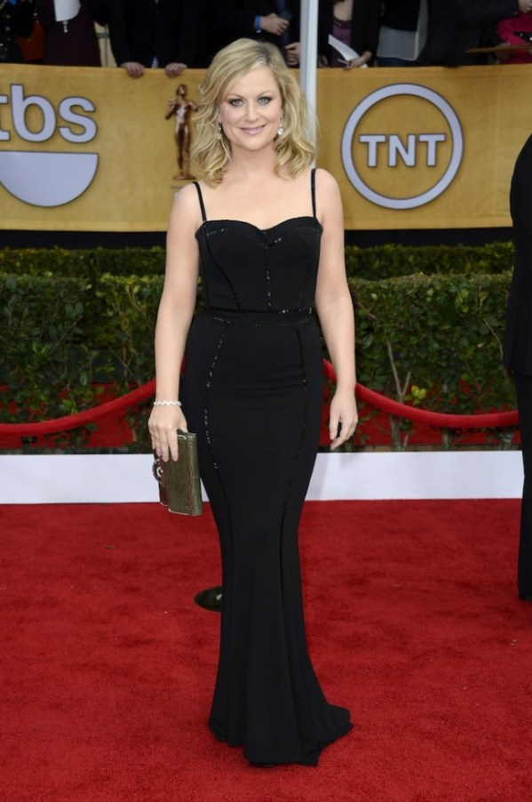 Amy Poehler in Zuhair Murad at SAG Awards