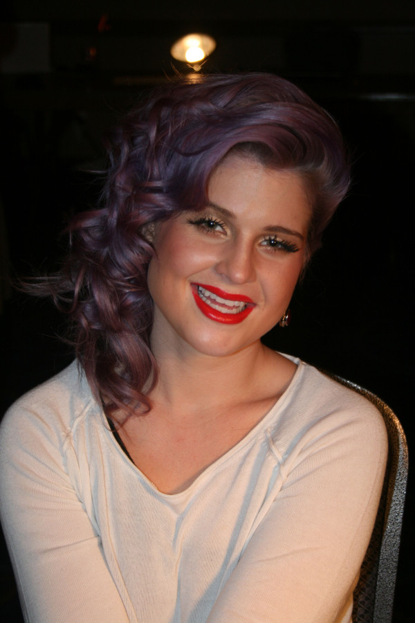 Kelly Osbourne backstage at 2013 Heart Truth Red Dress Collection Show