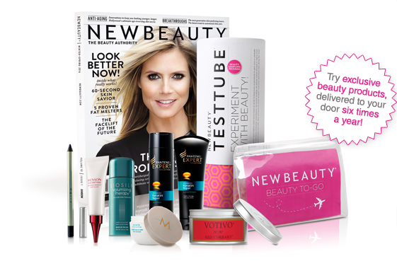 New Beauty Test Tube Box