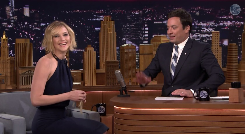 Jennifer Lawrence Talks Dancing With JLO And Plays 'Box of ...