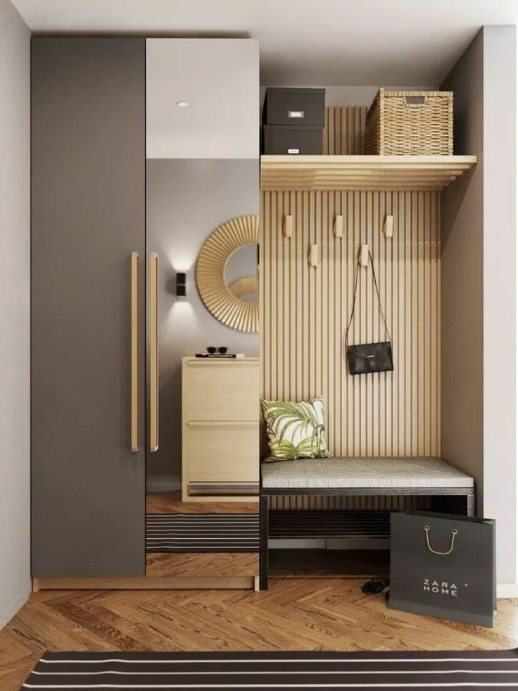 Una parete divisoria è sicuramente la prima soluzione a cui tutti pensiamo per separare il soggiorno dall'angolo cottura, dal momento che un muro è l'elemento. Arredare E Dividere L Ingresso Dal Soggiorno Glamcasamagazine