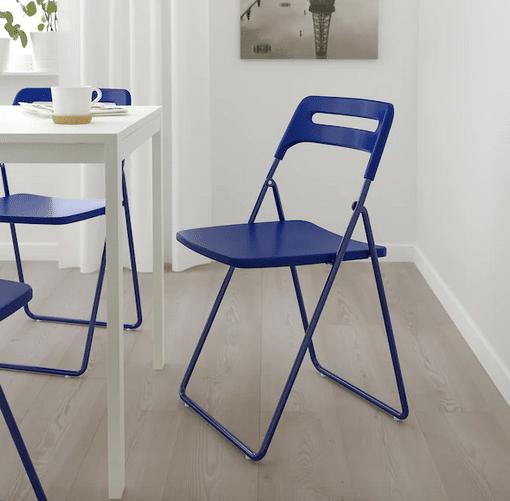 Allo stesso prezzo, anche alle sedie nisse. Sedie Pieghevoli Ikea Modelli Prezzi E Colori Glamcasamagazine