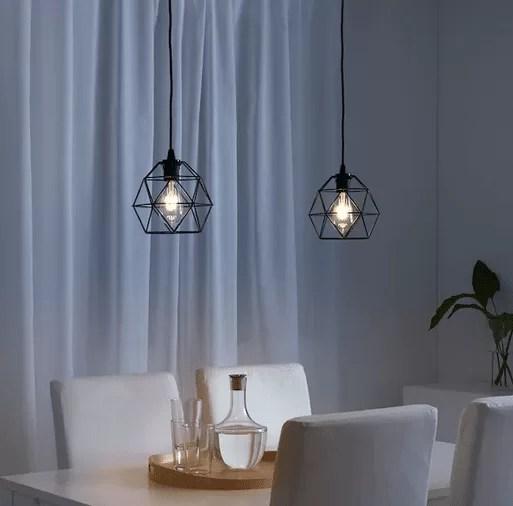 Ci piace immaginarla in cucina, che pende sul tavolo,. Lampade Ikea Novita Illuminazione 2020 Di Tendenza