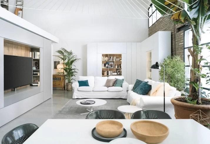 Moderne per la tua parete attrezzata moderna: Parete Attrezzata Moderna Un Soggiorno Glamour Con Caccaro Glamcasamagazine