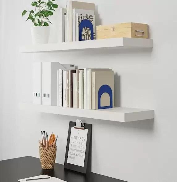 Le mensole botkyrka di ikea, dal design semplice e sottile sono fatte in. Mensole Ikea A Staffe Semplici E Moderne Le Idee Piu Belle E Pratiche