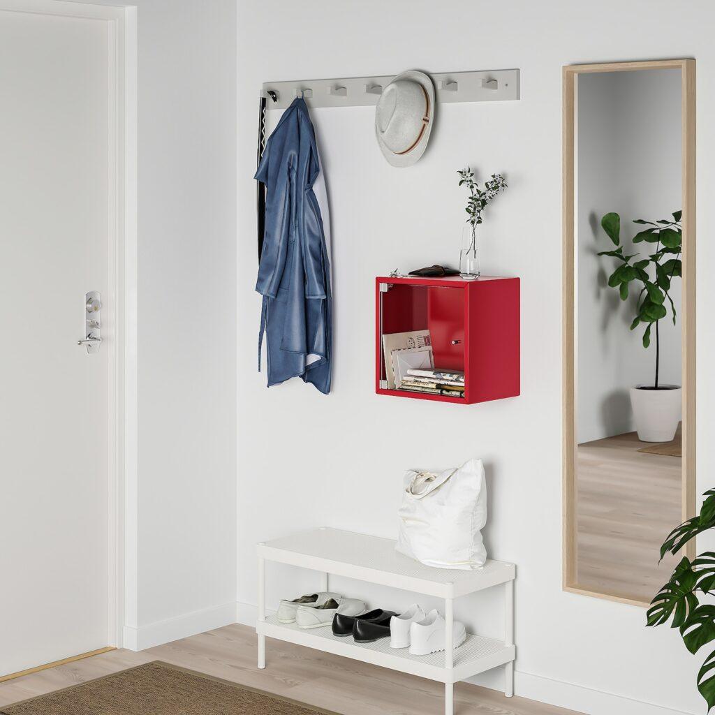 Set di 3 pezzi, mensola a cubo spaceo l 30 x h 30 cm, sp 12 mm bianco   leroy merlin. Mensole Ikea A Staffe Semplici E Moderne Le Idee Piu Belle E Pratiche