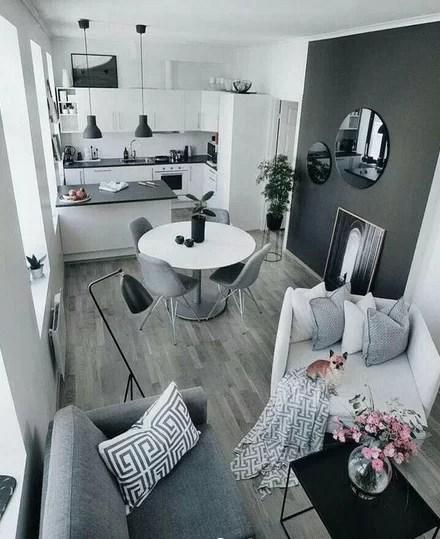 cucina e soggiorno si guardano, in questo ambiente unico nel quale le scelte cromatiche valorizzano gli elementi d'arredo. Arredare Un Soggiorno Piccolo Trucchi E Consigli Glamcasamagazine