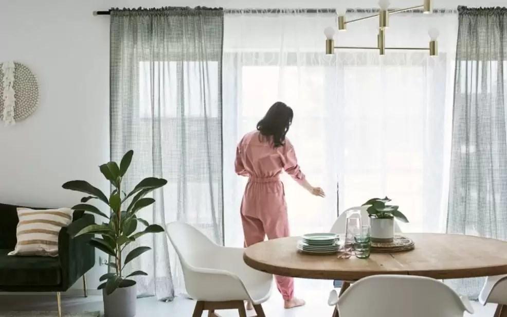 Zlyyh tende con anelli colore fiore musica simbolo 229x274cm tenda per camera da letto per ragazza,tenda oscurante a due piani, tenda con occhielli,risparmio energetico,tenda per isolamento,per camera. Tende Ikea Le Idee Piu Belle Per Arredare La Tua Casa Con Stile
