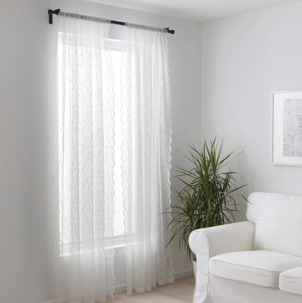 Finestra tenda vetro porta finestra increspata a palloncino. Tende Ikea Le Idee Piu Belle Per Arredare La Tua Casa Con Stile