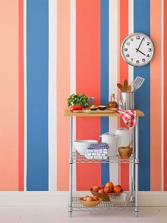 2 pareti dipinte a righe: Pareti A Righe Le Migliori Idee E Ispirazioni Per Decorare Casa