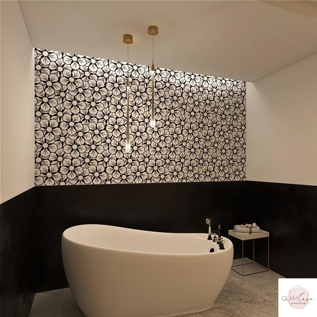 Poi se si ha il bagno in camera diventa ancora più facile creare continuità visiva tra i pavimenti delle due stanze. Fiori Stile Inglese Glamcasamagazine
