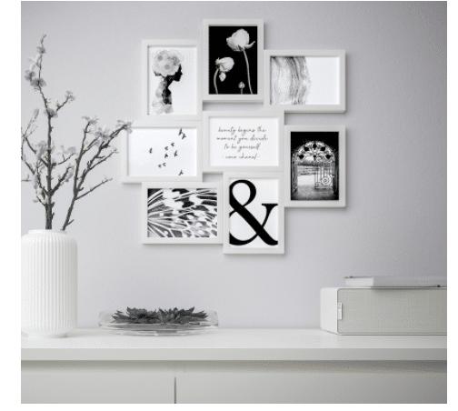 Perfetto per soggiorno e camera da letto, è leggero e robusto, adatto al salotto, cucina o ufficio. Quadri Ikea Come Decorare Gli Ambienti Della Nostra Casa Per Ogni Stile