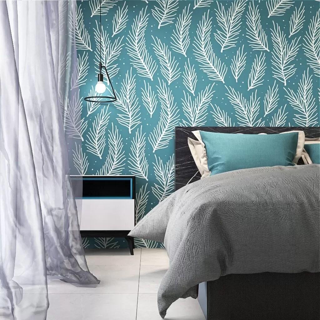 Carta da parati fiori rimovibili decorazione della parete per camera da letto soggiorno. Carte Da Parati Per Camera Da Letto Le Migliori Idee Glamcasamagazine