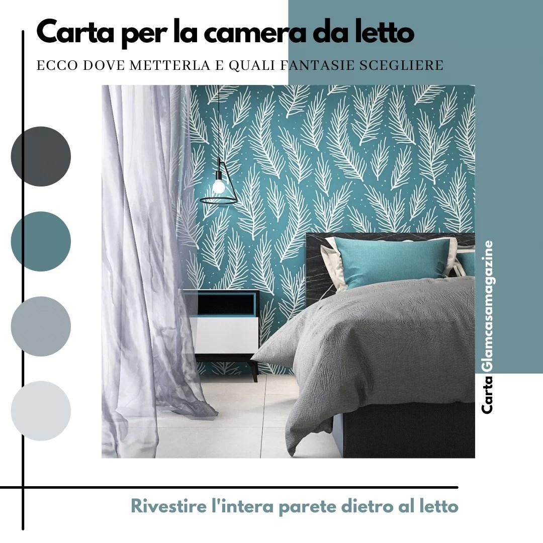 Decorazioni per pareti della camera da letto 125 idee. Carte Da Parati Per Camera Da Letto Le Migliori Idee Glamcasamagazine