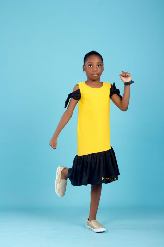 "Fuzz kids ""Dynamic Girl"" Dress Collection Is Definitely An Upgrade To A Child's Cuteness 3"
