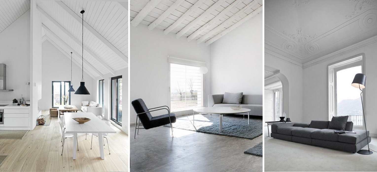 Un int rieur pur du minimalisme pour respirer glam for Ma maison minimaliste
