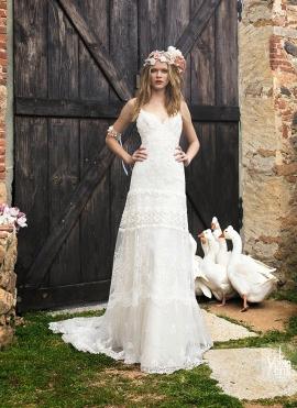 abiti da sposa 2015 boho girl yolancris country shabby matrimoni 1