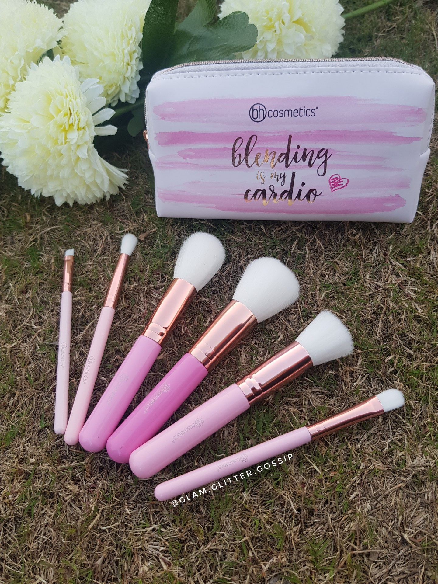 BH Cosmetics The Mini Pink Perfection Brush Set Review