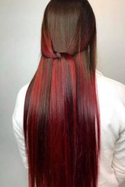 find with red ombre