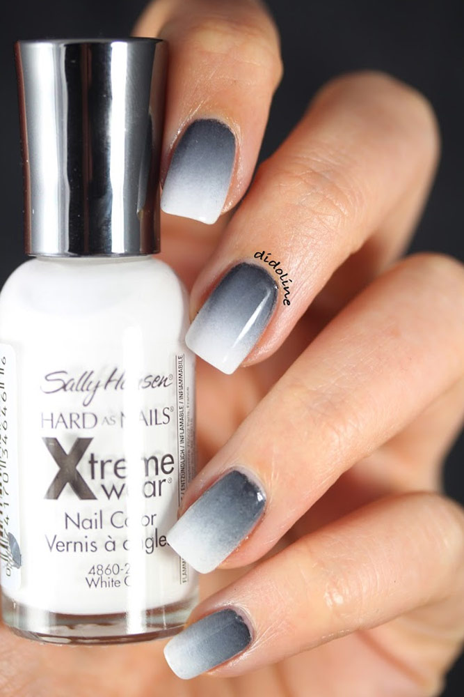 Grey Ombre Nails : ombre, nails, Ombre, Nails, Collection, Leave, Speechless, Glaminati.com