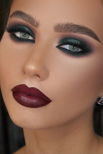 Elegant Smokey Eye Makeup