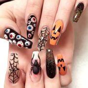 super stylish halloween nails