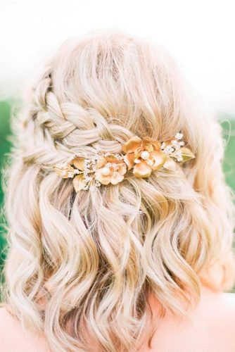 Embellished with Flowers Hairstyles