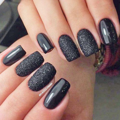 Simple Glitter Nails Designs picture 4
